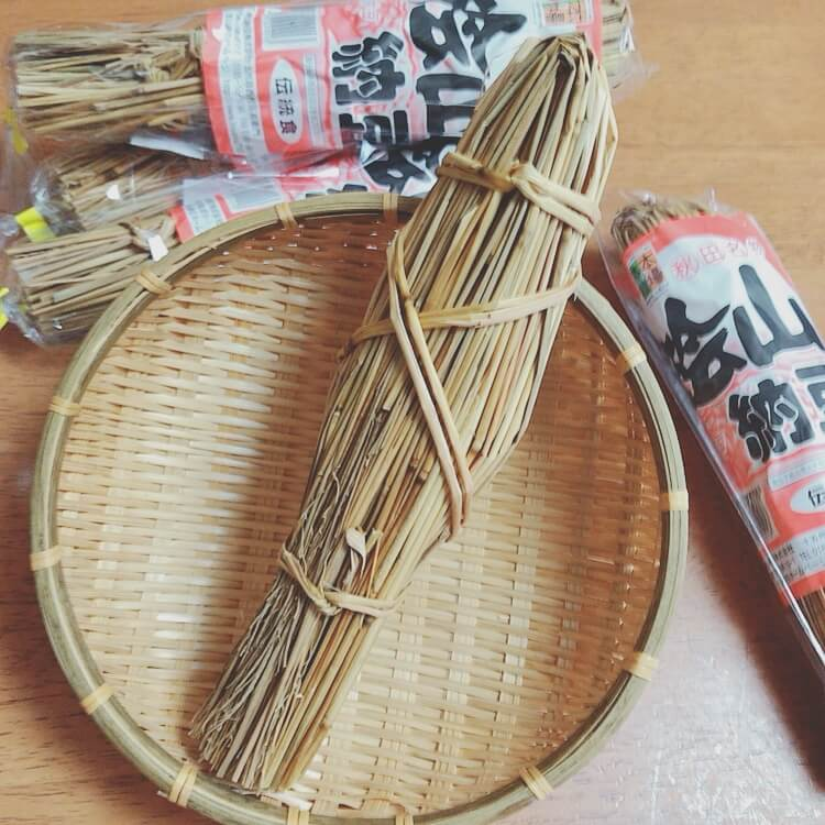 ワラヅト入り納豆
