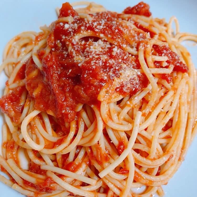 コナリエのトマトパスタ